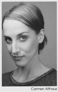 Professional photo of actor Carmen Althaus circa 2005. Carmen was cast as Christina in Daughter of God. Carmen is now Carmen König.
