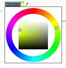 Sélection de couleur