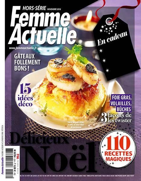 Femme Actuelle HorsSerie Cuisine de Fetes  Novembre 2018 No 53  Download PDF magazines