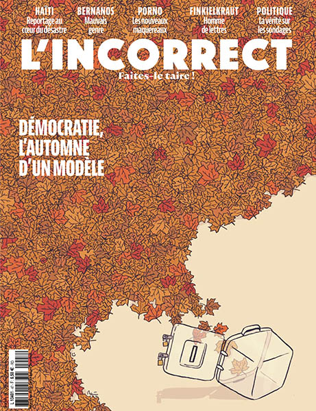 L'Incorrect - Octobre 2021 (No. 47) » Download PDF magazines - French  Magazines Commumity!