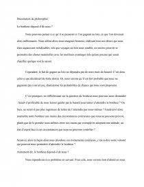 Le Bonheur Dépend Il De Nous : bonheur, dépend, Bonheur, Dépend-il, Nous?, Dissertation
