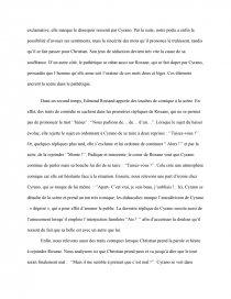 Cyrano De Bergerac Acte 3 Scène 7 : cyrano, bergerac, scène, Cyrano, Bergerac,, Scène, Recherche, Documents