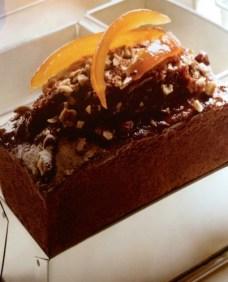 cake de avellanas y naranja