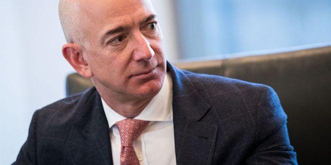 """AMAZON - """"favorable à une hausse du taux d'imposition des sociétés""""Jeff Bezos, a déclaré dans un communiqué que l'entreprise est """"favorable à une hausse du taux d'imposition des sociétés""""."""