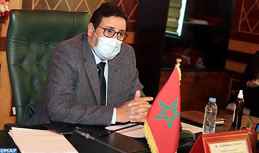 Lors d'une réunion conjointe tenue par visioconférence depuis Paris et Rabat, le premier vice-président de la Chambre des Conseillers et président du groupe d'amitié Maroc-France, Abdessamad Kayouh a appelé, au nom du groupe d'amitié Maroc-France,