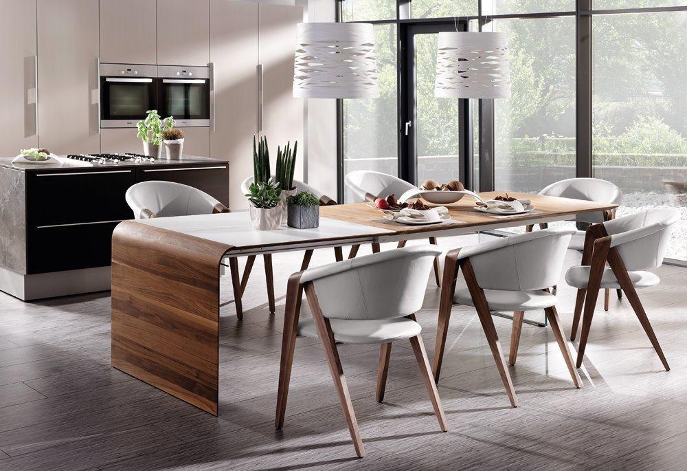 Table De Repas Ou Bureau Design Avec Joue En Verre De