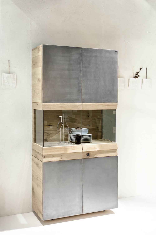 meuble colonne avec vitrine organo