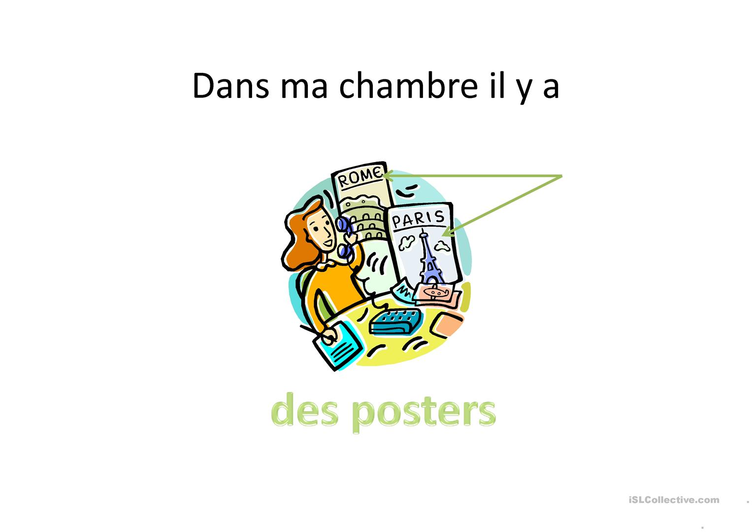 Ma Chambre Fiche D Exercices