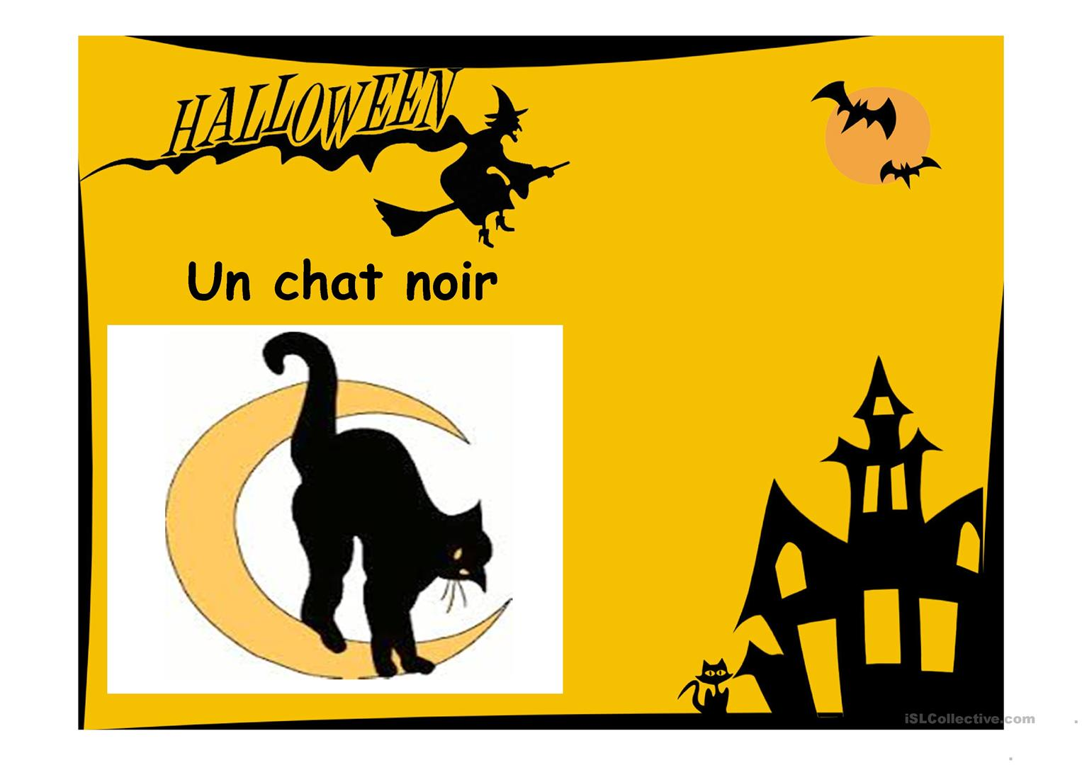 Halloween Fiche D Exercices
