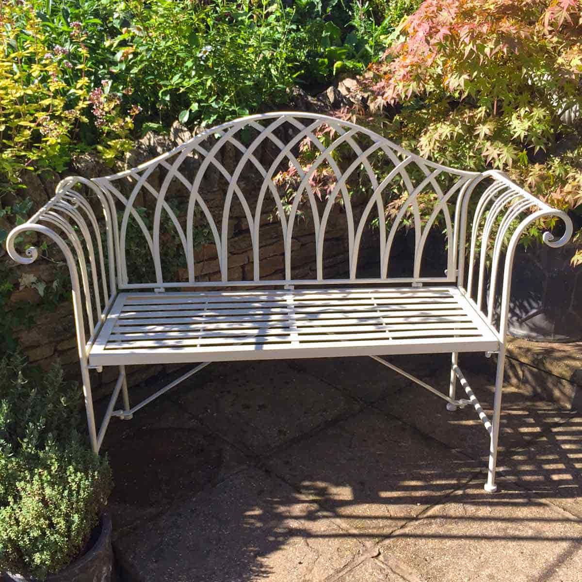 Banc De Jardin Fer Forgé Chaise De Jardin En Fer Forgé Luxe