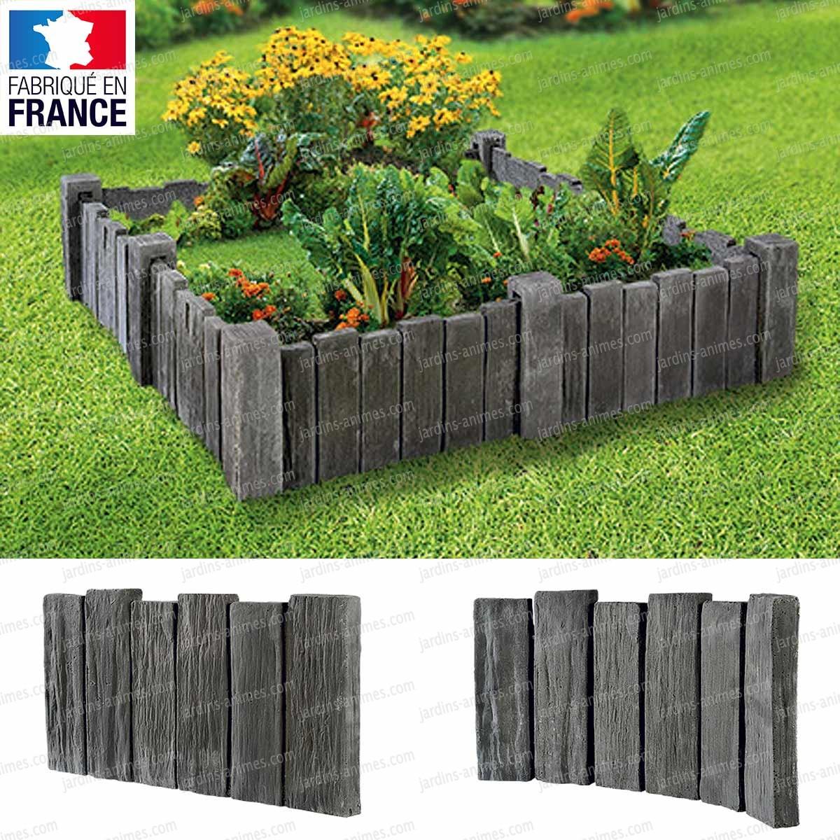 bordure imitation ardoise piquet ardoise pas cher nouveau bordure aluminium jardin leroy. Black Bedroom Furniture Sets. Home Design Ideas