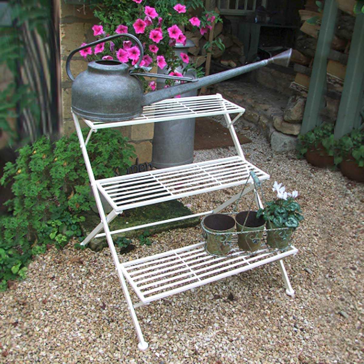 Etagere De Jardin Pour Plantes | Etagere Metallique Pour Plantes
