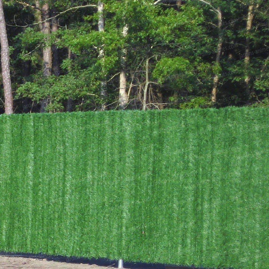 Haie De Jardin En Pvc   Images Photos Realisations Haie De Bambou ...