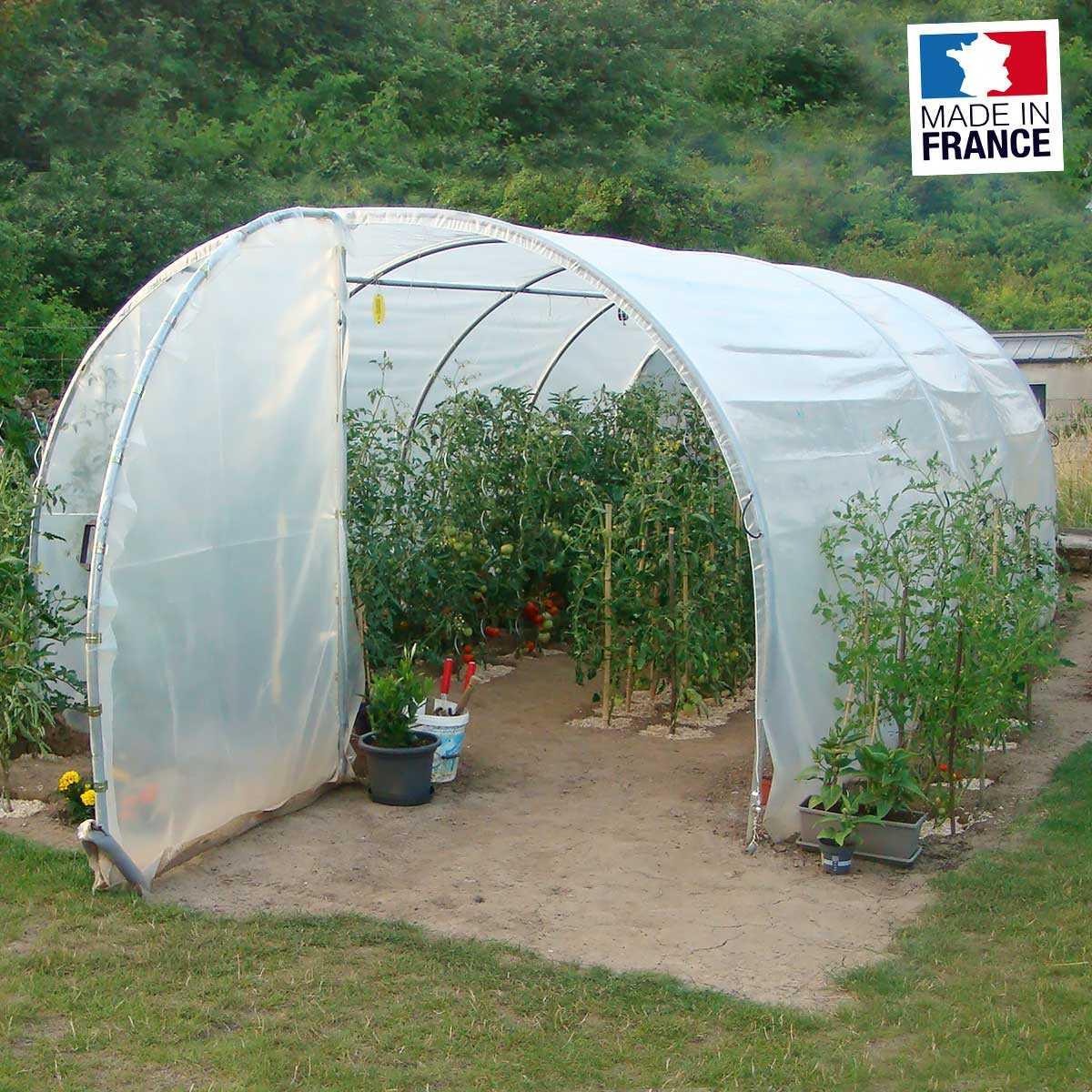 grande serre tunnel de jardin 2 portes 3m x 6m 18m2 vente au meilleur prix jardins animes