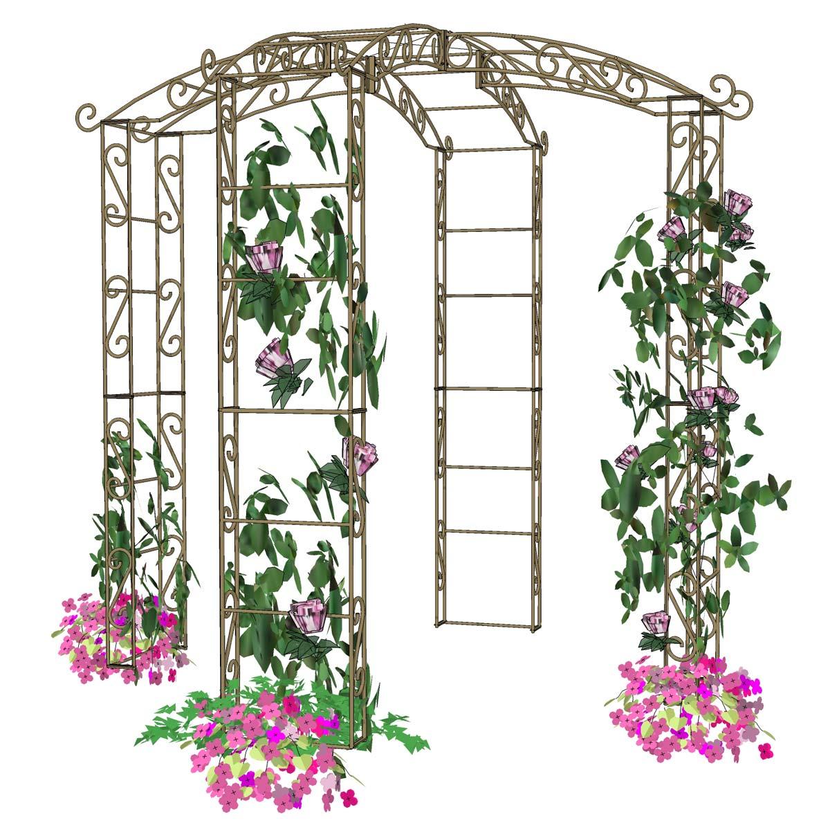 P Arche De Jardin En Bambou | Moregs