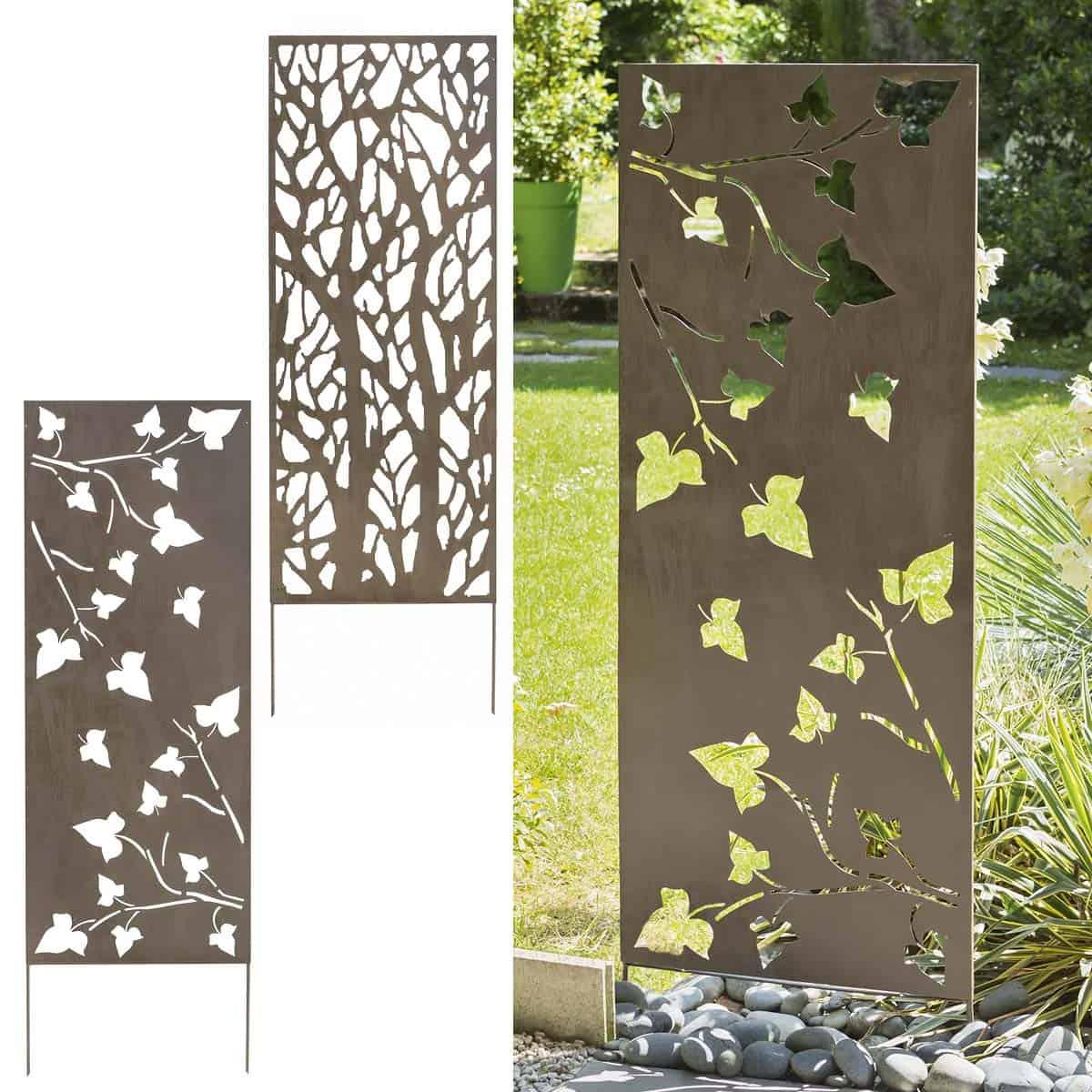 panneau decoratif en metal 0 6m x 1 5m