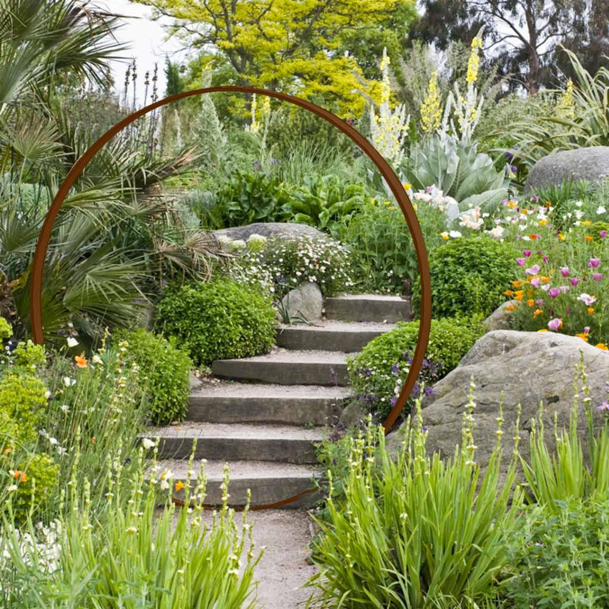 Deco Jardin Metal | Salon De Jardin Design En Métal