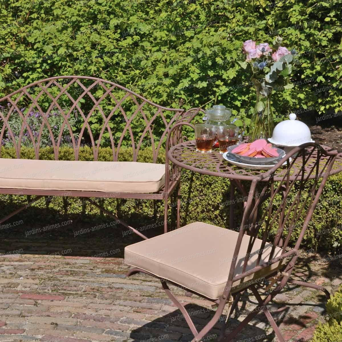 Petit Salon De Jardin En Acier   Salon De Jardin Conseil Pour Bien ...