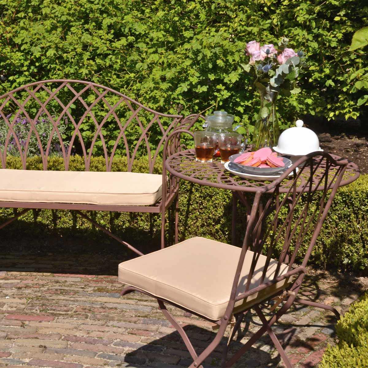 salon de jardin sophia en acier style fer forge vente au meilleur prix jardins animes