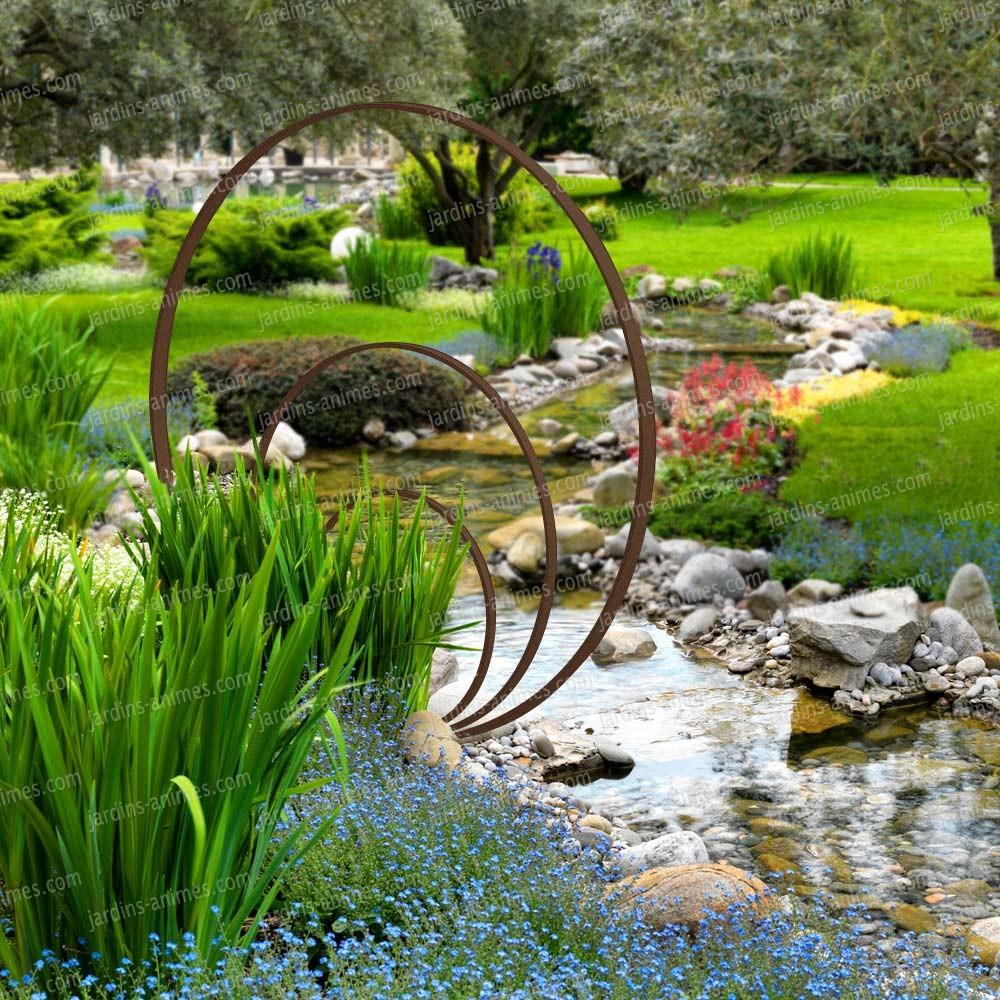 Beautiful Deco Jardin Courcelles Photos - House Design - marcomilone.com