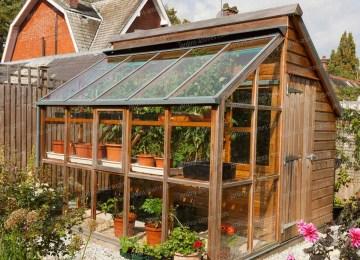 Serre De Jardin Toit Plat | Jardin Le Blog Du Colporteur