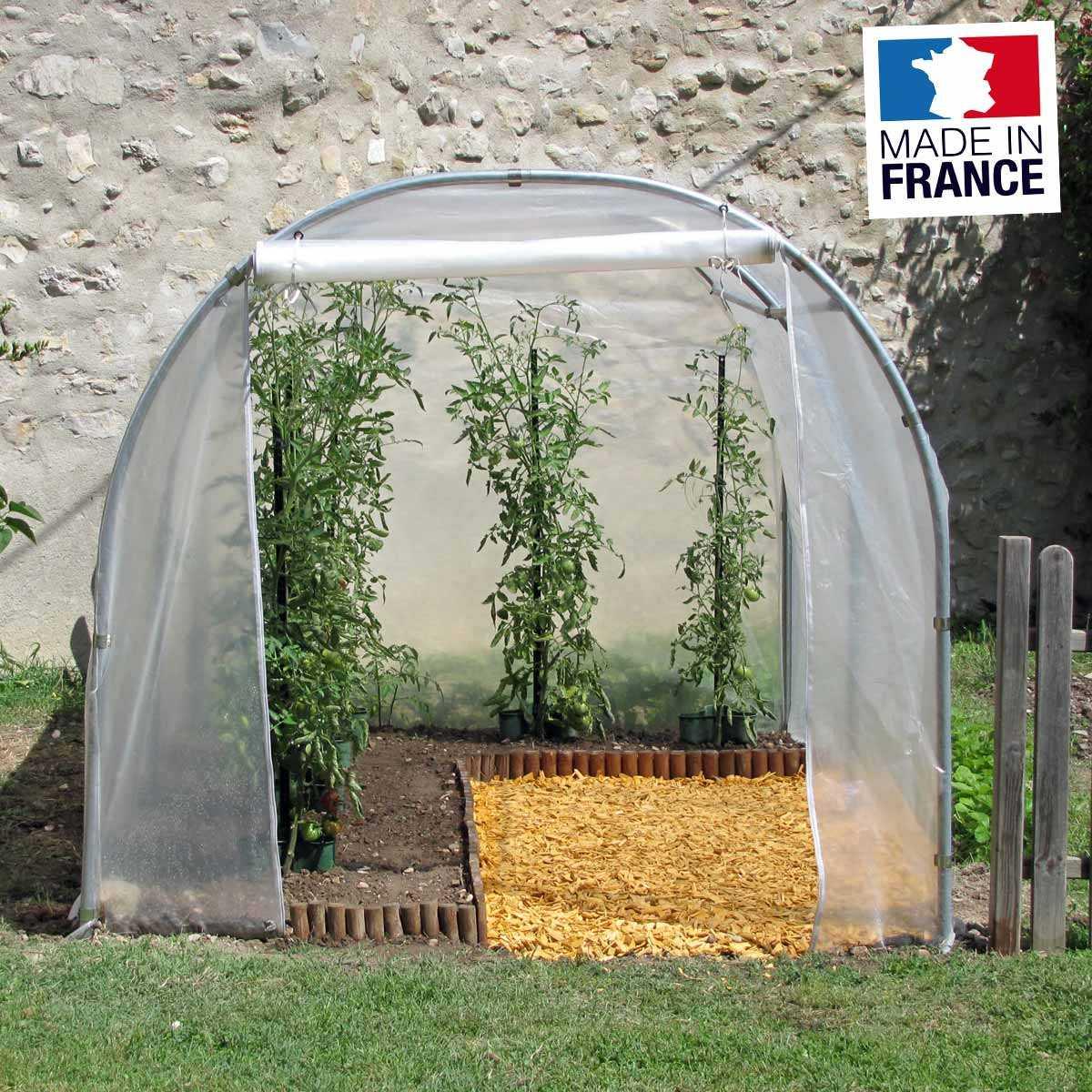serre tunnel de jardin 2m x 3m 6m2 vente au meilleur prix jardins animes