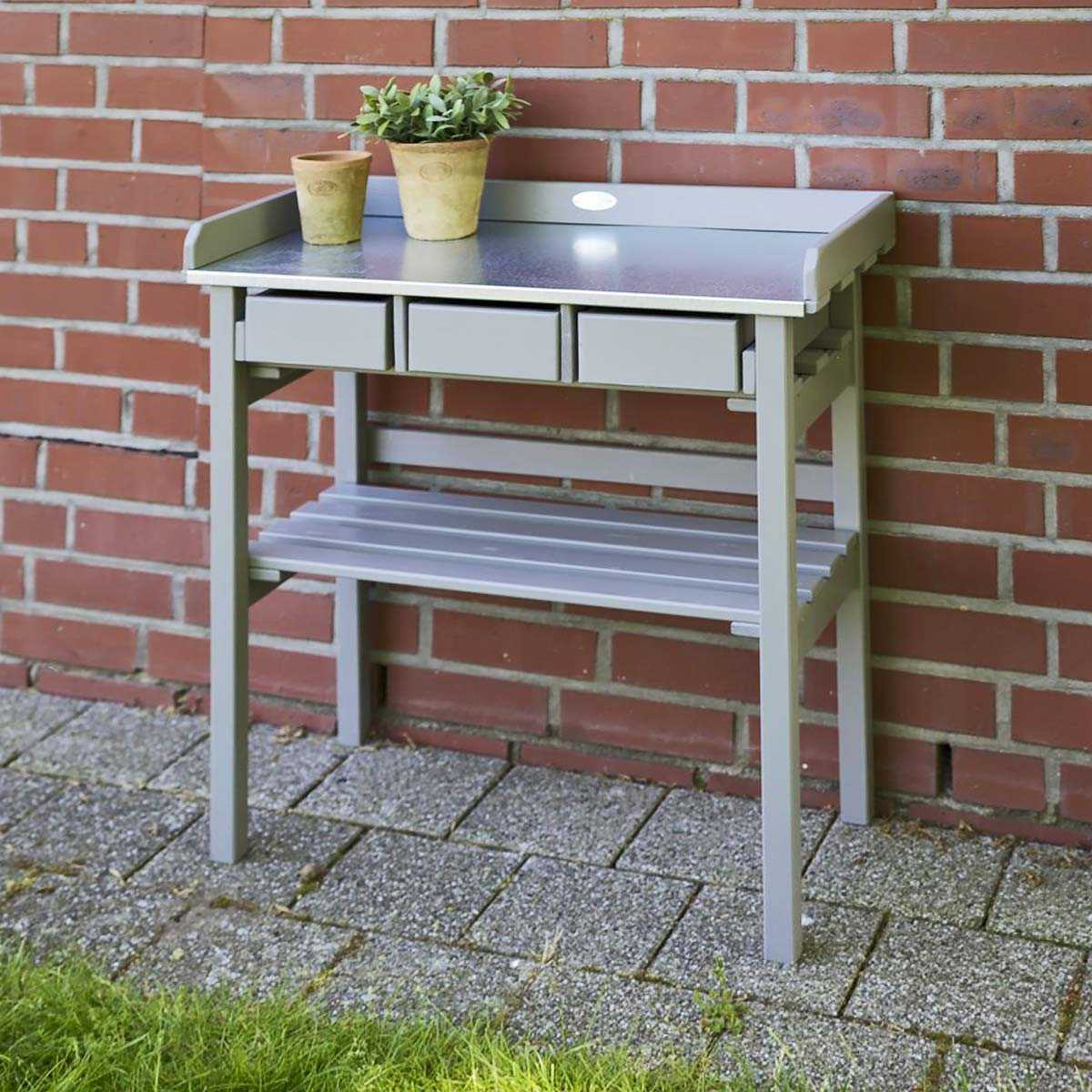 Table Jardin Mosaique Gamm Vert | Serre De Jardin Polycarbonate Gamm ...