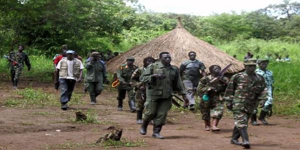 Photo des membres de l'Armée de résistance du Seigneur, LRA