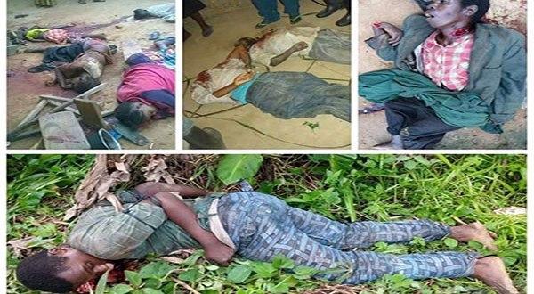 Images du massacre de Beni