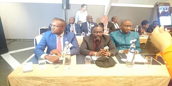 Photo des opposants congolais a Bruxelles.