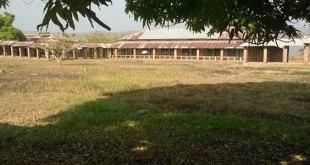 Photo de l'Hôpital général de Référence de Mobayi Mbongo, a Gbadolite dans la province du Nord Ubango, RDC.