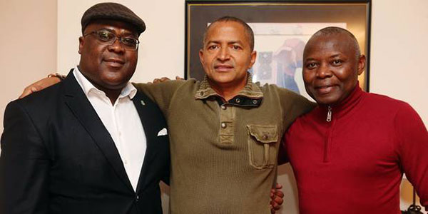 Felix TSHISEKEDI, Moise KATUMBI CHAPWE et Vital KAMERHE LWA KANYINGINGYI