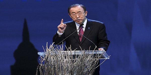 Photo du SG des Nations Unis.