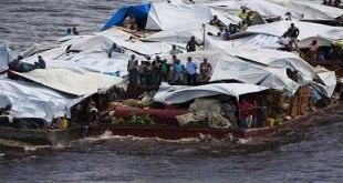 Photo des Congolais refoulés de Brazzaville