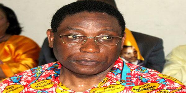 Photo d'un politicien Congolais