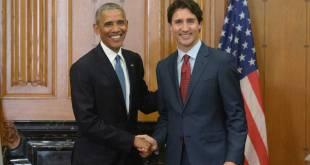 Justin Trudeau et Barack Obama