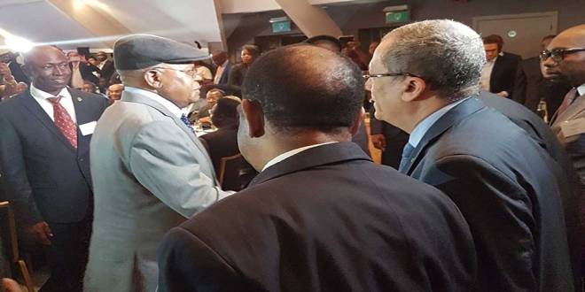 Etienne TSHISEKEDI WA MULUMBA - Conference de Bruxelles