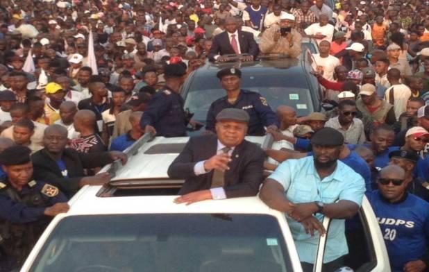 Retour d'Etienne TSHISEKEDI, Mercredi 27 Juillet 2016, Kinshasa, RDC.