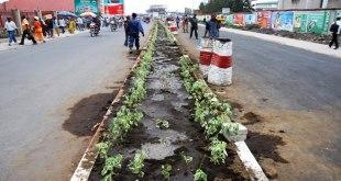 Modernisation de la voirie de Goma