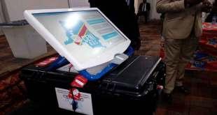 Machine à voter, CENI, RDC.