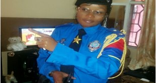 Photo du major Carine Loseko qui a froidement abattu Rossy Mukendi a Kinshasa