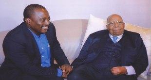 Kabila rencontre Gizenga à Kinshasa