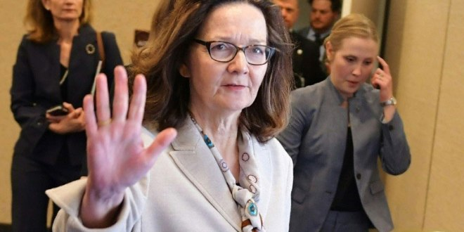 Gina Haspel, avant son audition devant la commision sénatoriale du renseignement, le 9 mai 2018 à Washington.