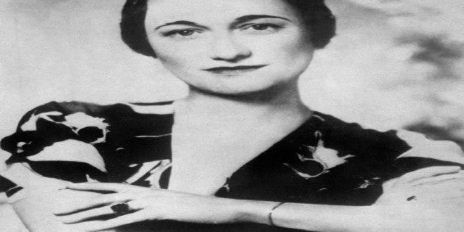 Wallis Simpson, ici dans les années trente, pour laquelle le roi Edward VIII allait abdiquer de façon à pouvoir l'épouser.