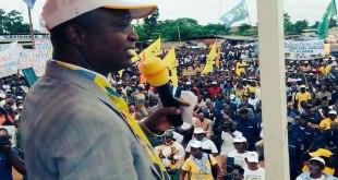 """Ramazani Shadary, Secretaire General du PPRD de """"Joseph Kabila""""."""