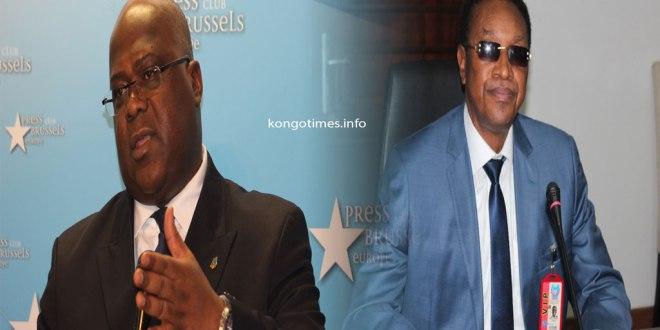 Fatshi [gauche] et Brutshi, ils se disputent le controle de l'UDPS.