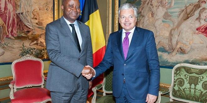 Adolphe MUZITO et Didier REYNDERS