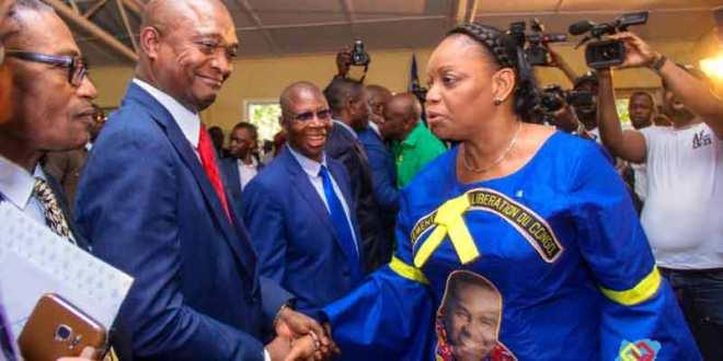 Emmanuel Ramazani Shadary et André-Alain Atundu ont assisté au congrès du MLC.