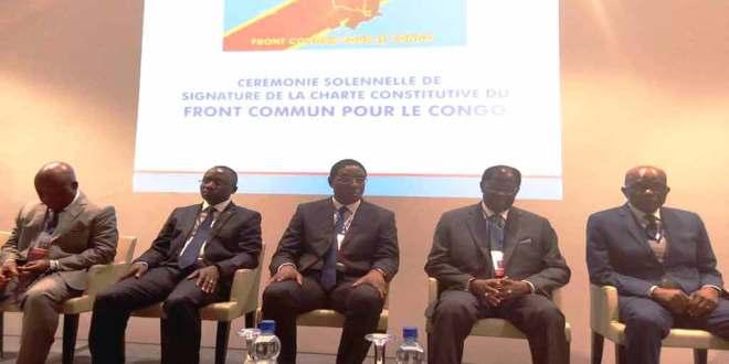 Lancement de la méga plate-forme Front Commun pour le Congo (FCC) de Joseph KABILA.