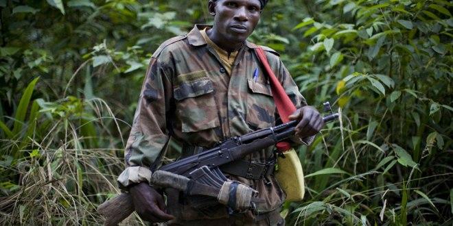 Rebelle FDLR, Est de RDC. Photo archive.